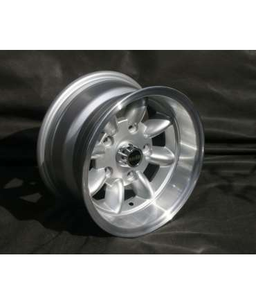 Roue alliage - Minilite - Roue Minilite silver/polished 7x13 perçage 4x108 alésage 63,4mm par Pneu collection