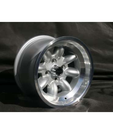 Roue alliage - Minilite - Roue Minilite silver/polished 8x13 perçage 4x100 alésage 63,4mm par Pneu collection