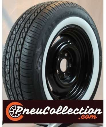 Pneu flanc blanc/liseré blanc - AVON - Pneu Avon 205/70R15 90V Turbospeed CR28 flanc blanc 40mm ( 1,6' ) par Pneu collection