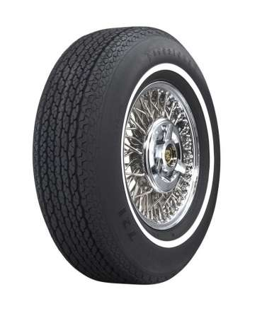 Pneu radial - FIRESTONE - PNEU FIRESTONE LR78-15 103P deluxe Liseré blanc 19mm( 3/4' ww) par Pneu collection