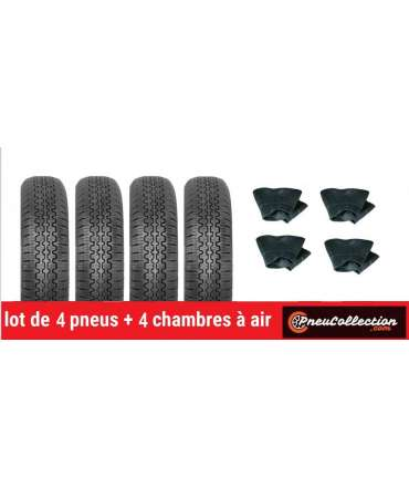 Pneu radial - Cinturato - LOT DE 4 PNEUS 125R12 CINTURATO CN54+4CH 125x12 TR13 par Pneu collection